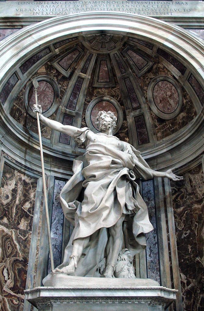 0 statue de saint longin par gian lorenzo bernini basilique st pierre vatican 11