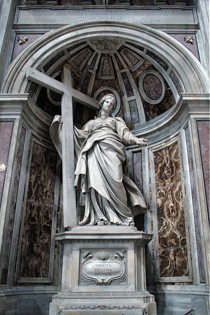 0 statue de sainte helene par andrea bolgi basilique st pierre vatican 11