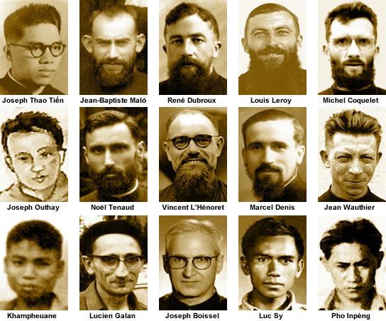15 martires laos