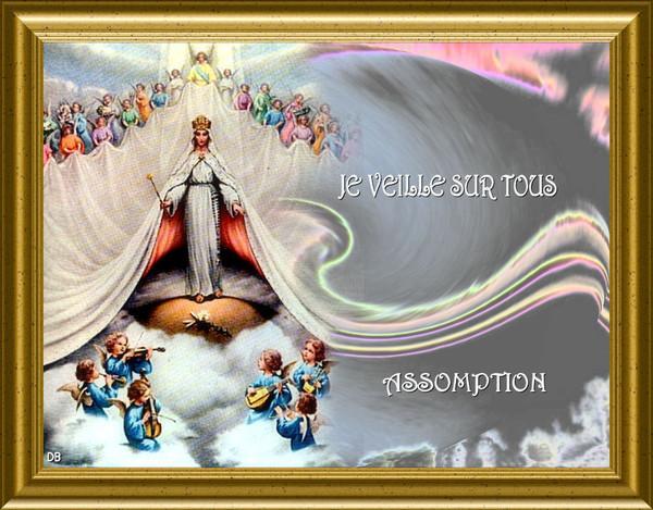 ++++Fête de L'Assomption de la Très Sainte Vierge Marie++++ 1fd19397