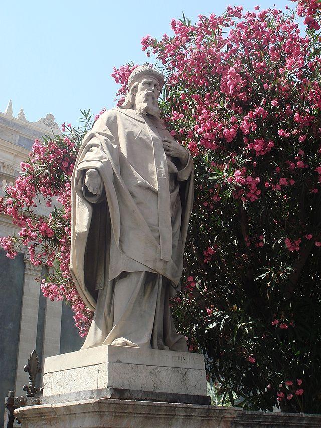 2896 catania cattedrale g nicoli s atanasio nella floretta giardino foto giovanni dall orto 4 july 2008