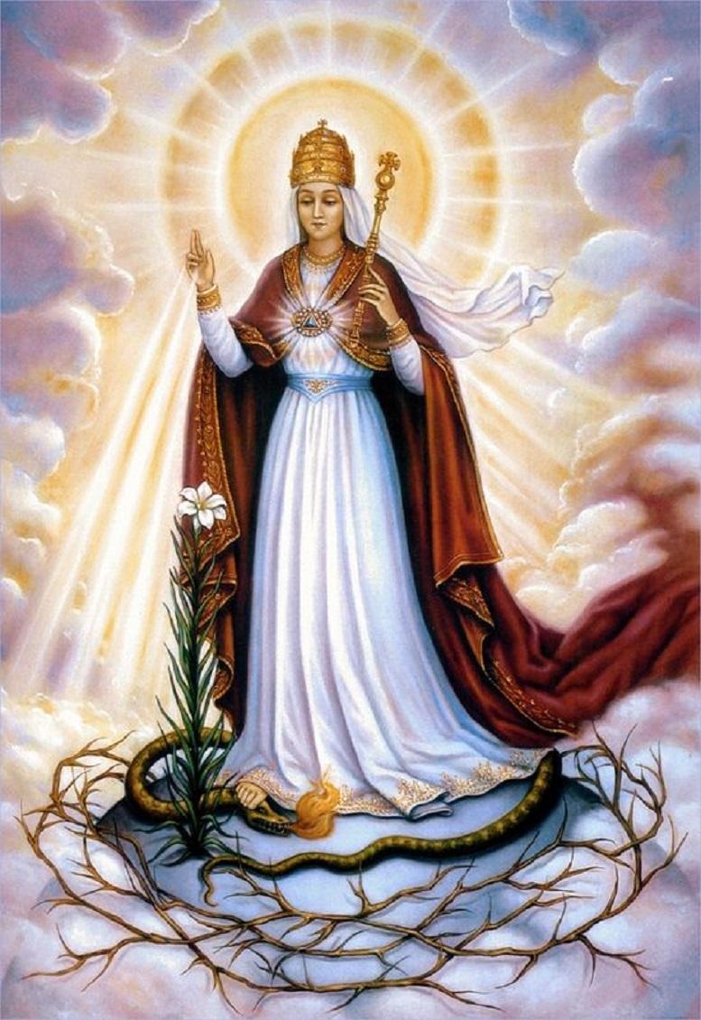 Préférence Sainte Vierge Marie, Reine. Fête le 22 Août. TH81