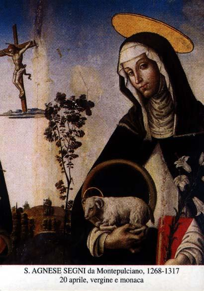 LE SAINT DU JOUR !! - Page 6 4-20.st..agnes.of.montepulciano