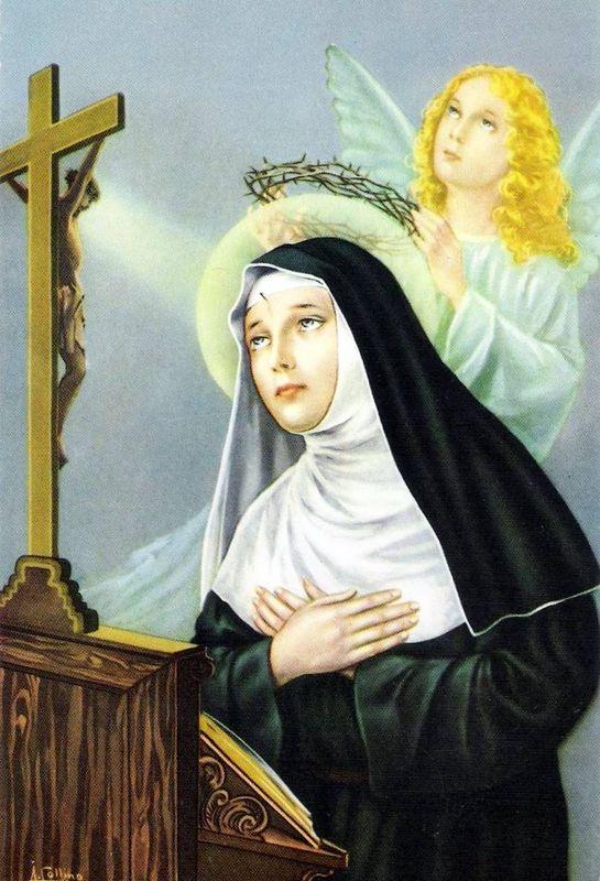 Sainte rita marguerita de cascia religieuse 1457 f te le 22 mai - Saint de glace 2018 ...