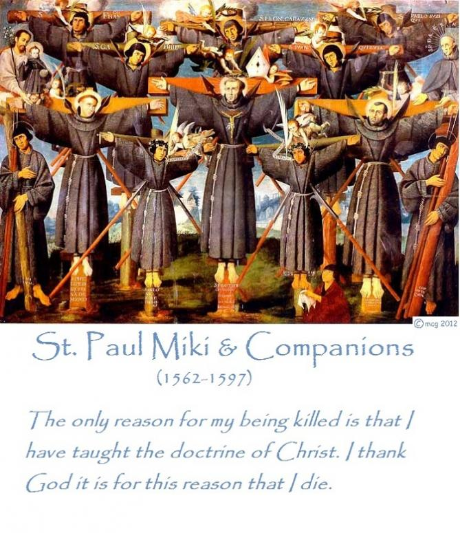 6 st paul miki and companions 1