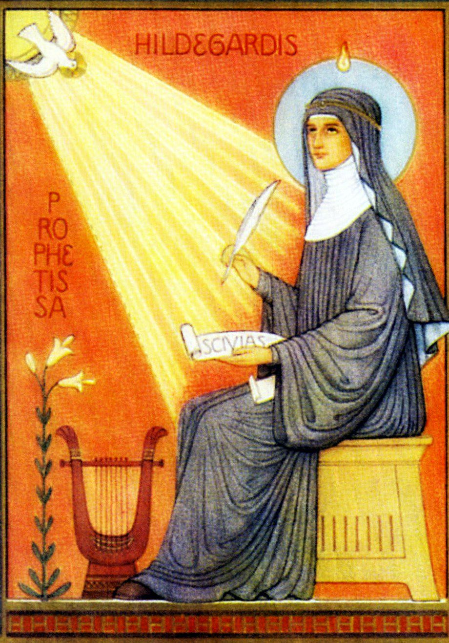 hildegarde of bingen These famous hildegard of bingen quotes illustrate the broad spectrum of her contribution to humanity her creative power resonates from each one.