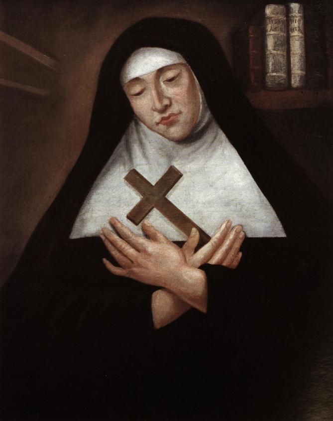 811px portrait de m re marie de l incarnation