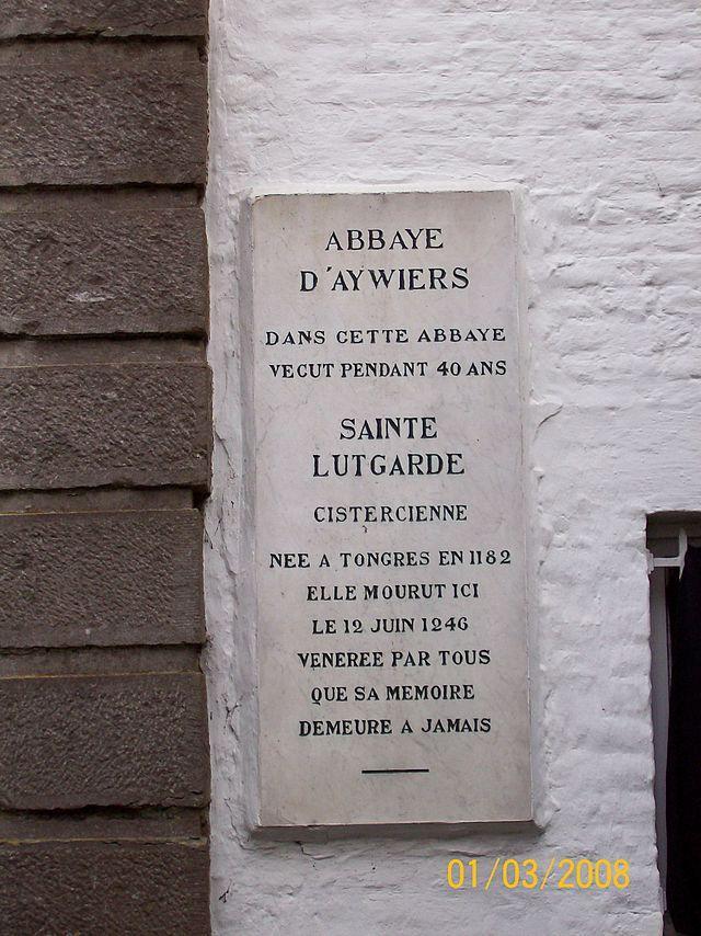 Abbaye d aywiers ste lutgarde