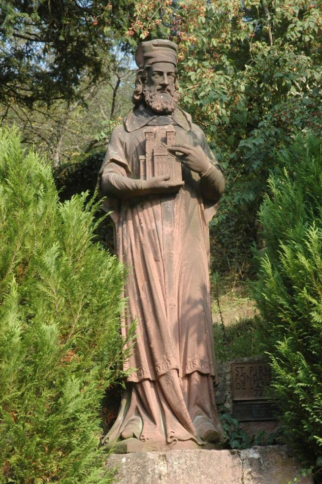 Abtei murbach pirmin 1