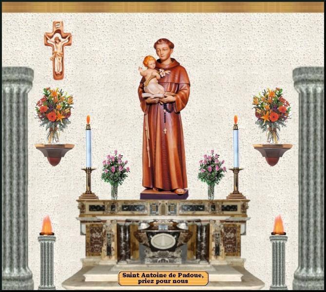 Altar antoine padoue 1