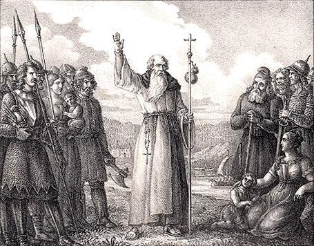 Ansgarius predikar christna laran i sverige by hugo hamilton