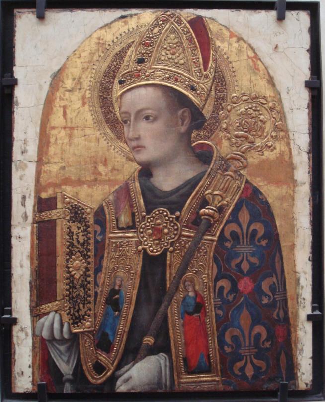 Antonio vivarini 1450 saint louis de toulouse