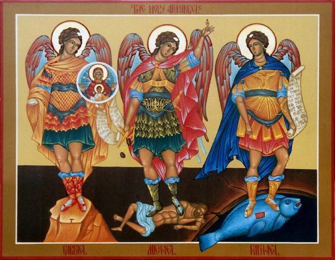 Archanges saints michel gabriel et raphael 11