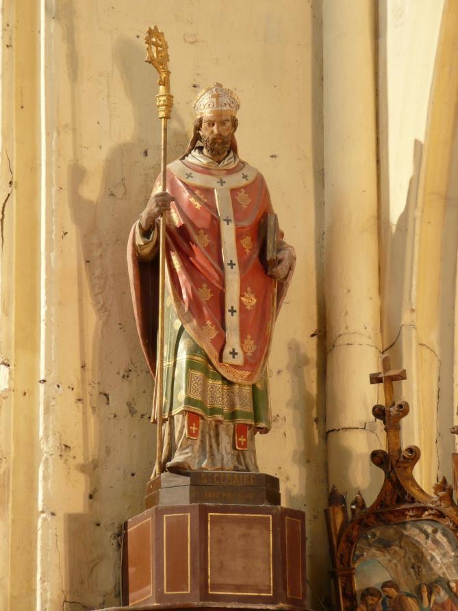 ✟Les Saints - Les Saintes du  Jour✟ Arles-st-cesaire27-choeur7-st-cesaire