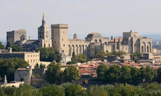 Avignon palais des papes depuis tour philippe le bel by jm rosier 11