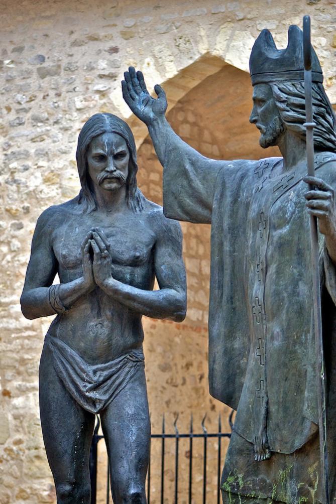 Baptism of clovis basilique saint remi de reims 2