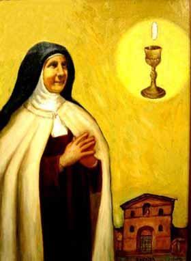 Beata maria candida delleucaristia d