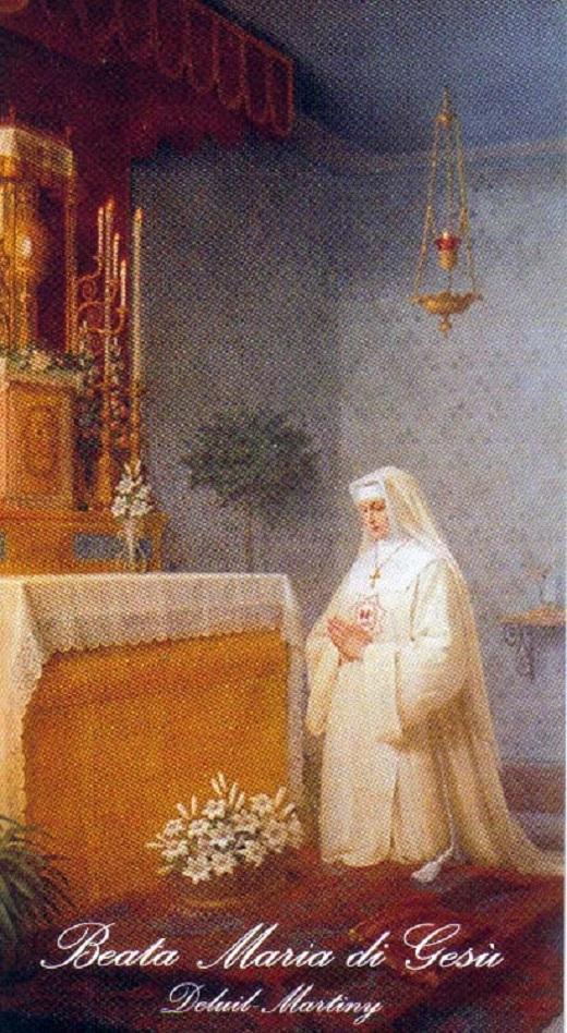 Beata maria di gesu deluil martiny b 2