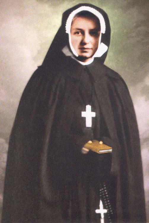 Beata maria di s cecilia romana maria dina belanger