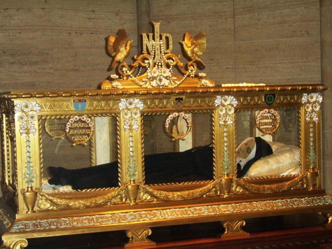 Bernadette soubirous sarcophagus 2 2