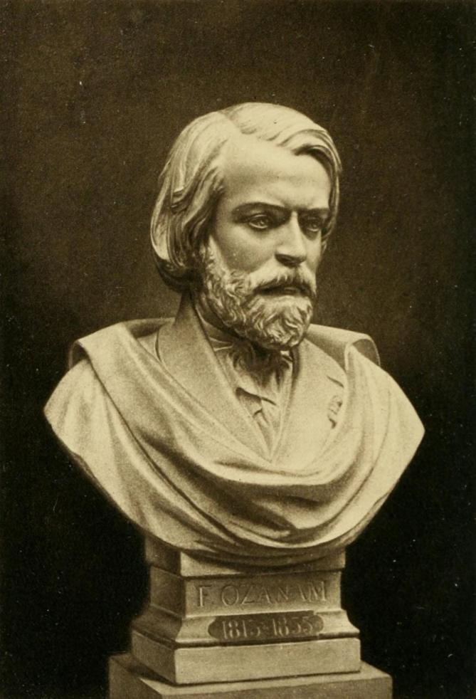 Bust of frederic ozanam