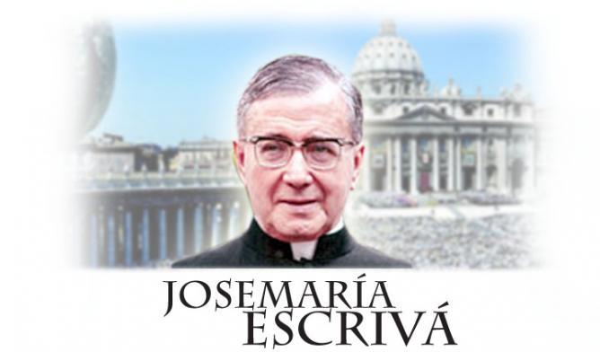 Canonization escriva