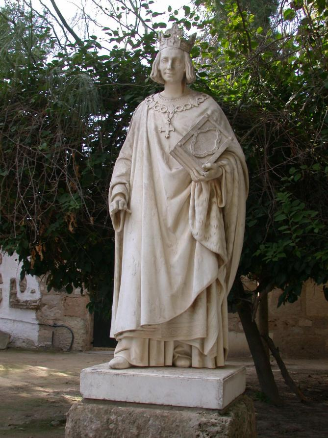 Carthage statue de saint louis