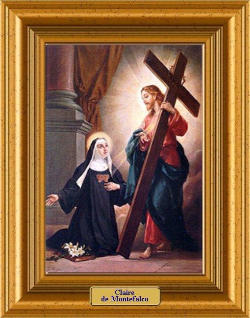 ✟Les Saints - Les Saintes du  Jour✟ Claire-montefalco-a-1