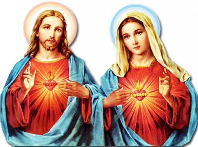 Coeur unis de jesus et de marie