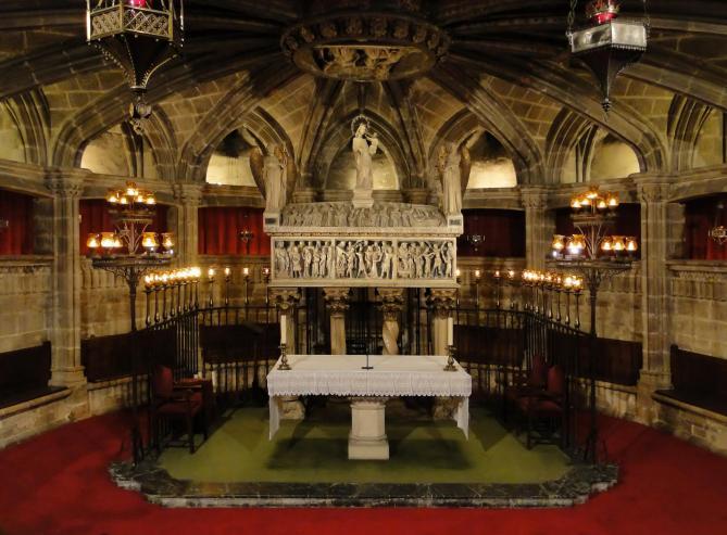 Crypt of santa eulalia