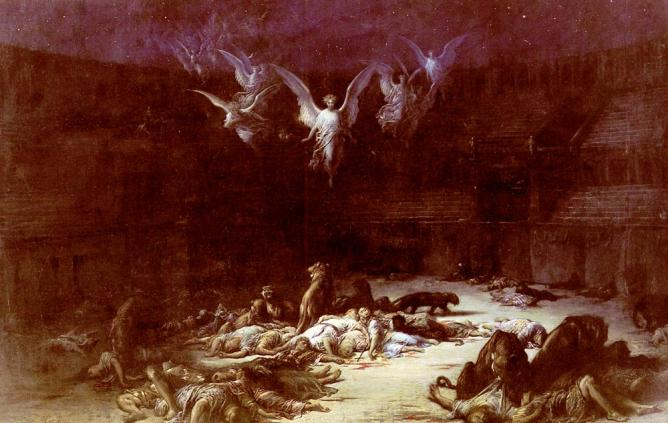 Dore gustave the christian martyrs