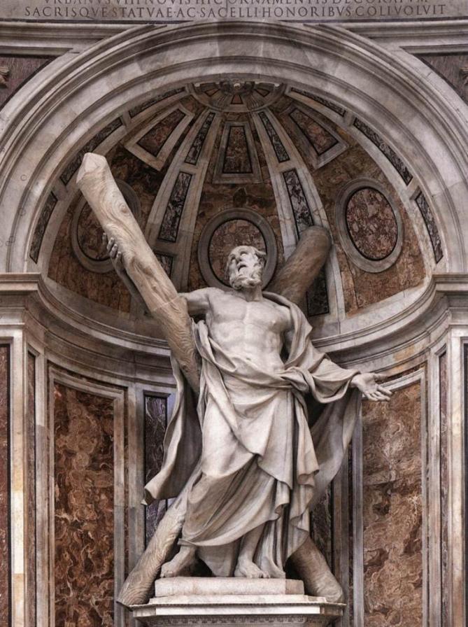 Dusquenoy saint andre 1629 saint pierre de rome 1