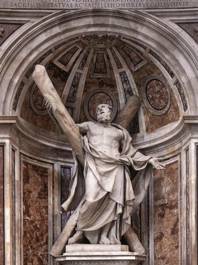 Dusquenoy saint andre 1629 saint pierre de rome 11
