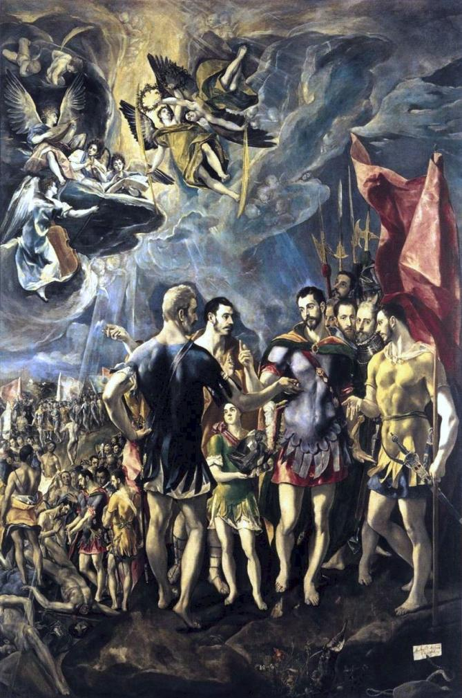 El greco the martyrdom of st maurice