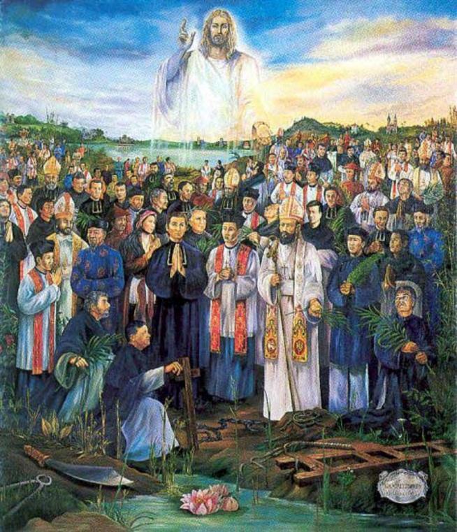 Fete des saints martyrs du viet nam