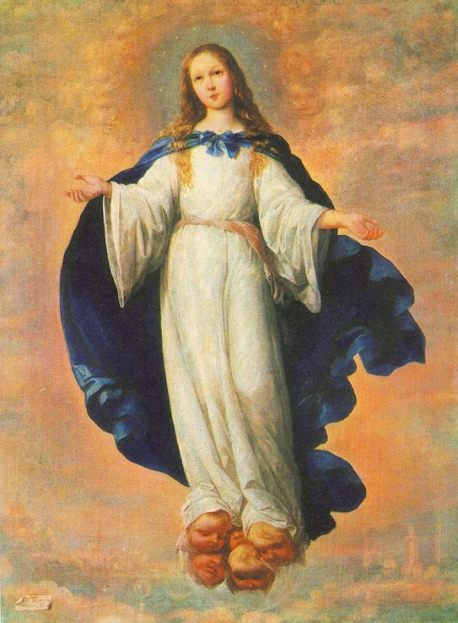 Francisco de zurbaran immaculate conception 3