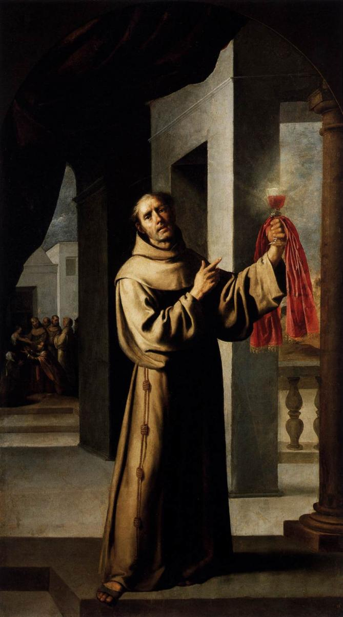 Francisco de zurbaran james of the marches