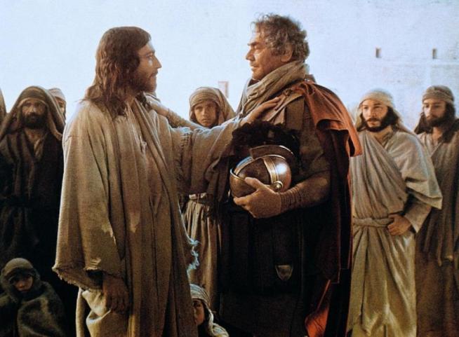 Gesu e il centurione romano
