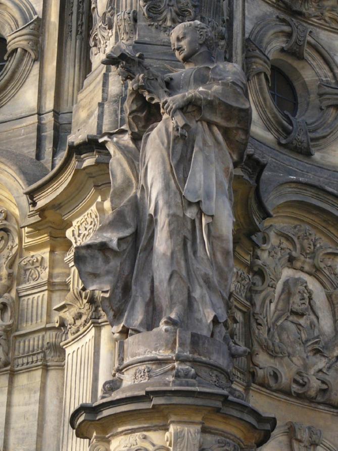 Holy trinity column aloysius gonzaga 11 2