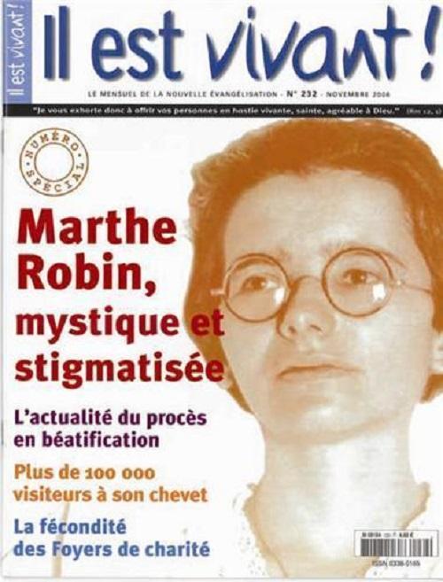 I grande 97487 il est vivant n 232 numero special marthe robin mystique et stigmatisee net 2