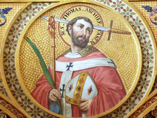 Icon of saint thomas of canterbury chapel venerable english college large 11