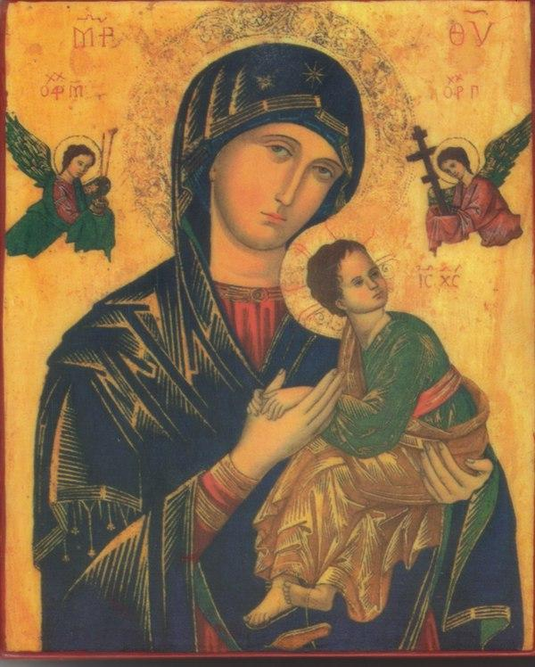 Icon our lady of perpetual help 15th 1