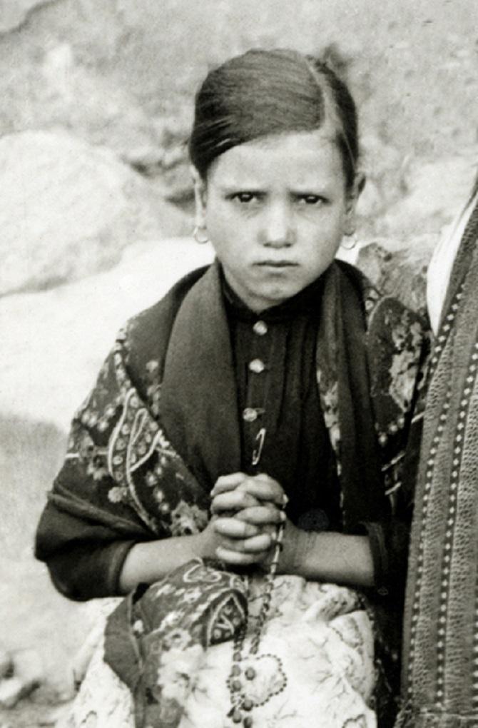 Jacinta marto fatima portugal 1917 2