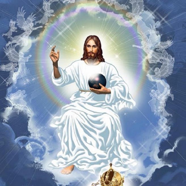 Jesus christ roi de l univers 11