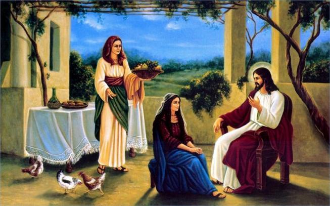 Jesus marthe et marie 11