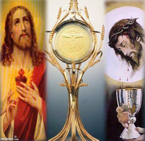 Jesus notre dieu s offre en victime pour notre salut et en nourriture pour nous donner la vie eternelle 3