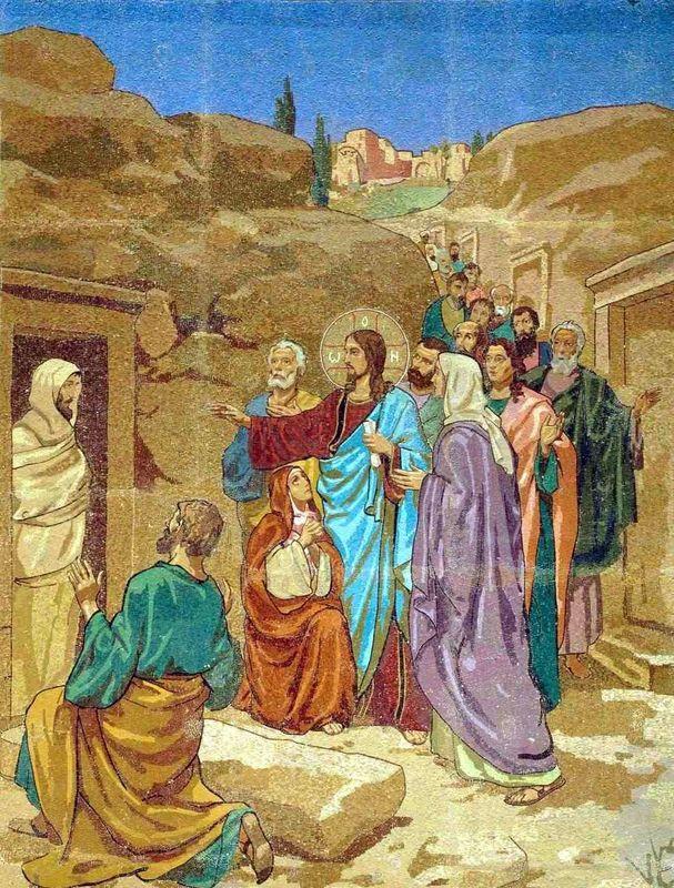 Jesus ressuscite lazare 1
