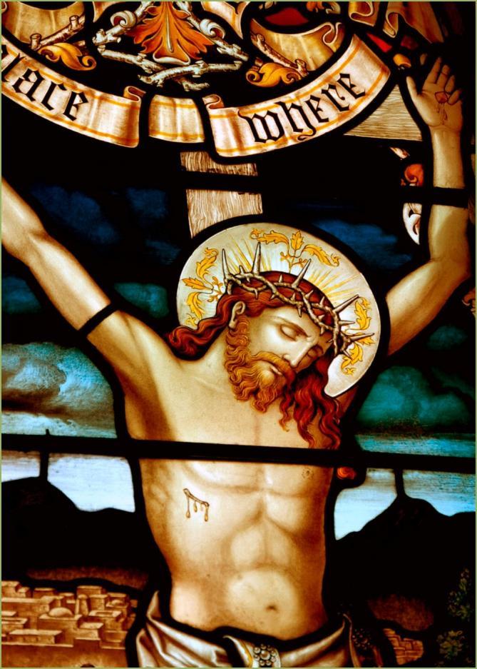 Jesus sur la croix 2