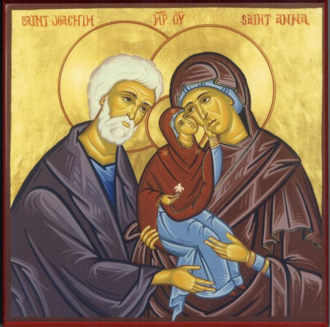 Joachim anna and virgin