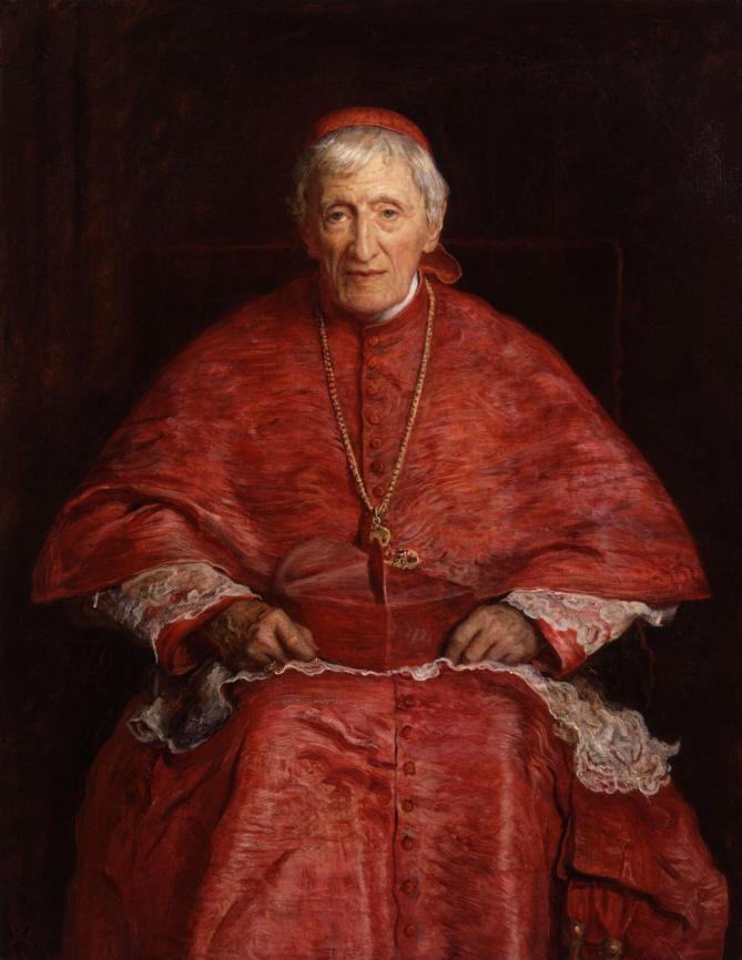 John henry newman by sir john everett millais 1st bt